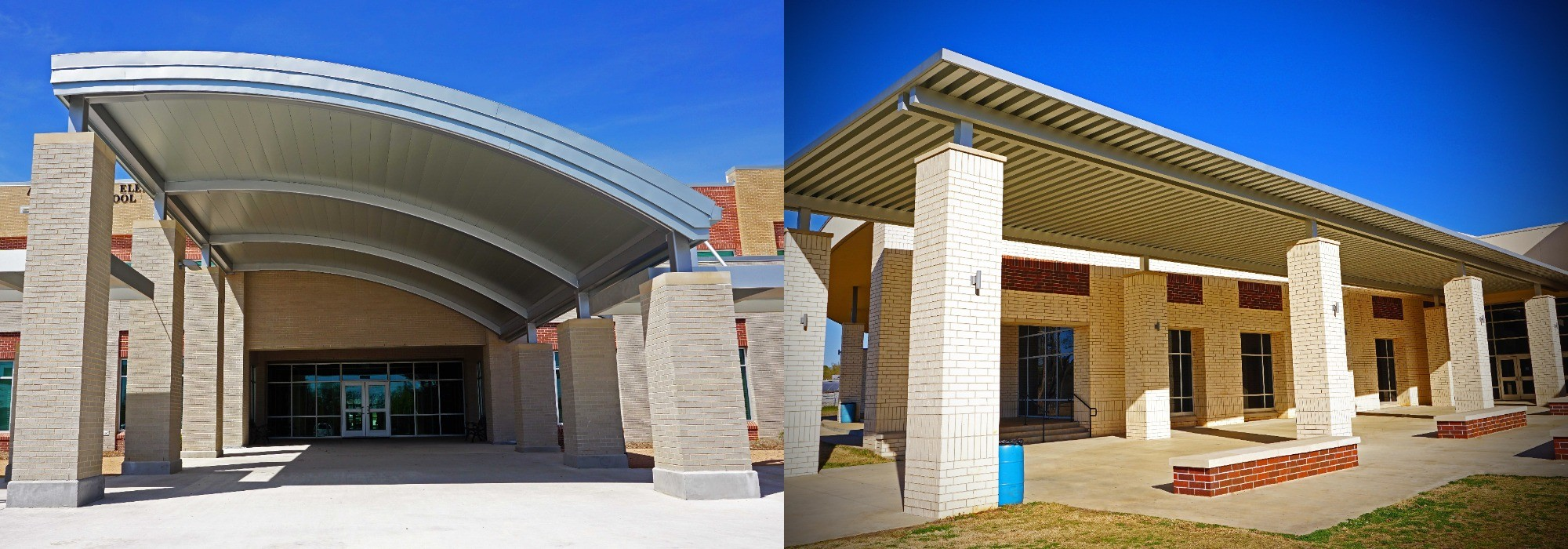 Aluminum Canopies and Awnings & Architectural Canopies and Awnings | Precision Structural Engineering