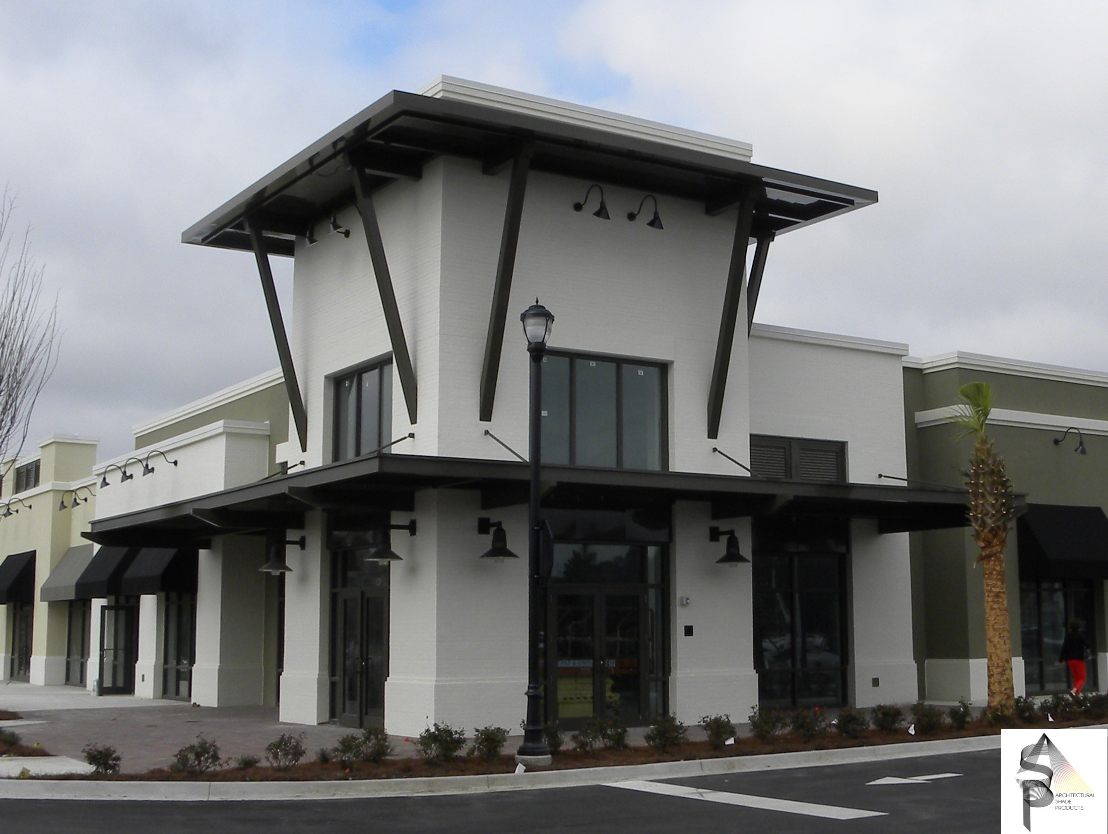 Publix Sawgrass Ponte Vedre FL & Architectural Canopies and Awnings | Precision Structural Engineering