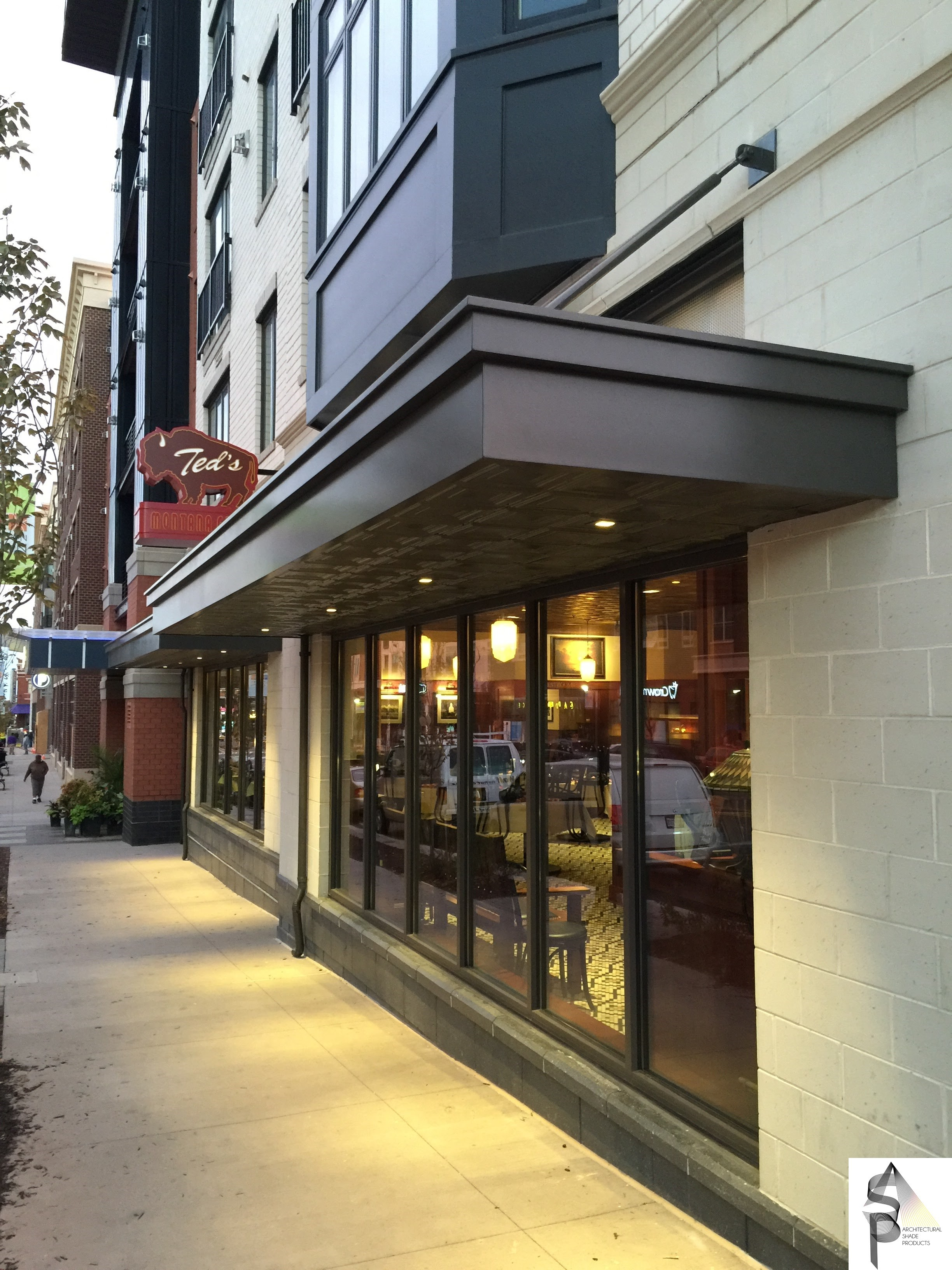Tedu0027s Montana Grill Gaithersburg MD 2 & Architectural Canopies and Awnings | Precision Structural Engineering