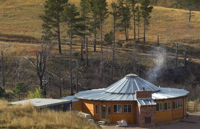 Smiling Woods Yurts 20' Birch yurt