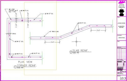 Swimming pool design drawings s33 precision structural - Swimming pool structural engineer ...