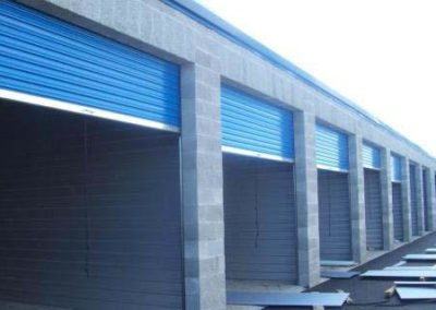 Basic Self-Storage Facility under construction