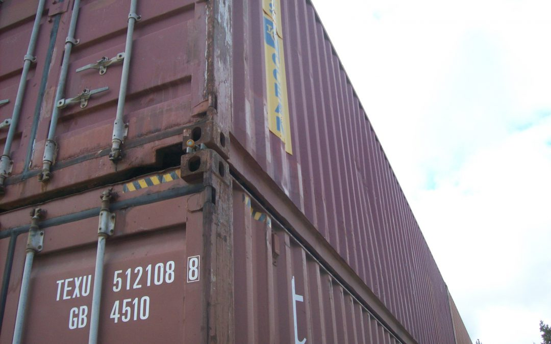 Designing A Shipping Cargo Container Structure Precision