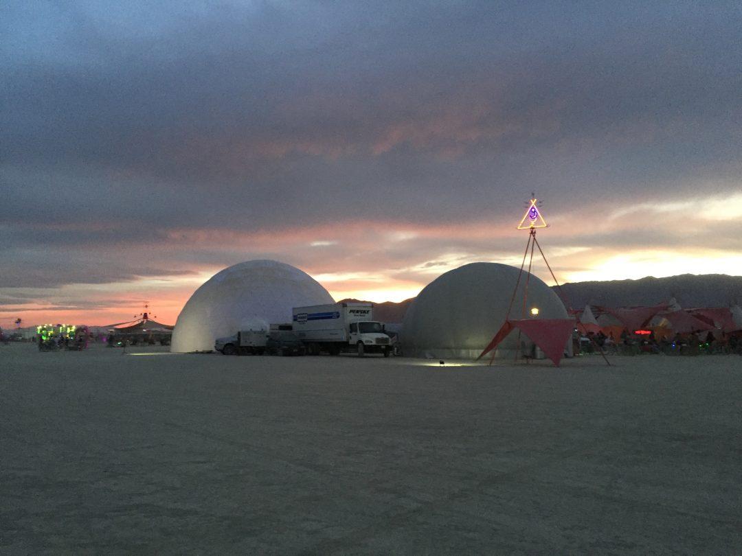 Burning Man Domes 2016 – FullDome Pro
