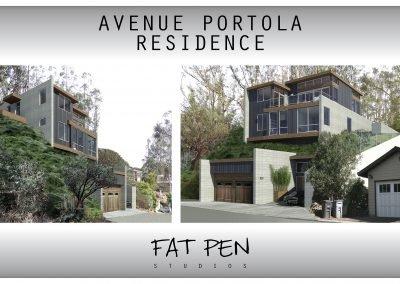 Avenue Portola Residence