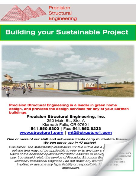 Earthbag House Design and Engineering | Precision Structural