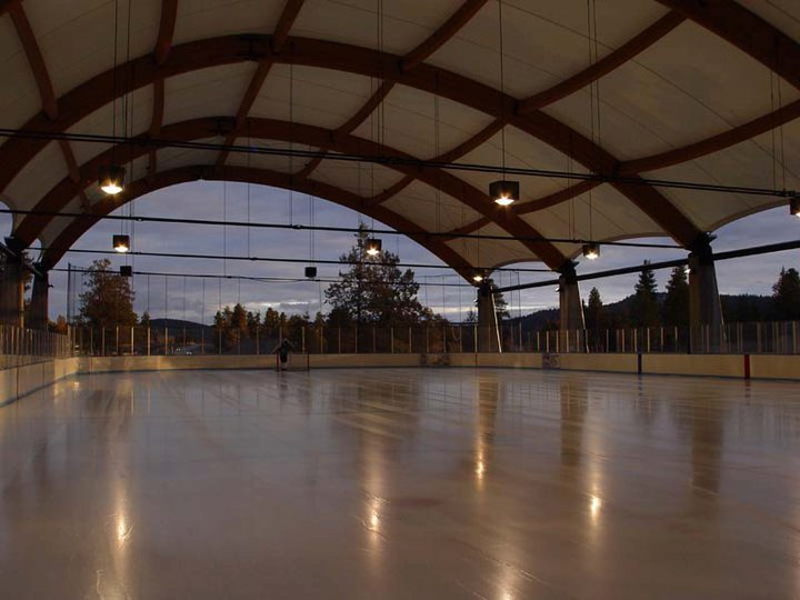 klamath-ice-rink-inside-2 - Fabric Structure