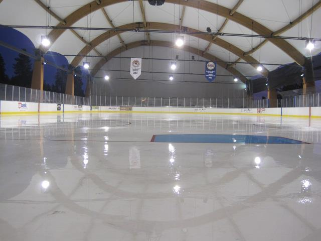 klamath-ice-rink-inside - Fabric Structure