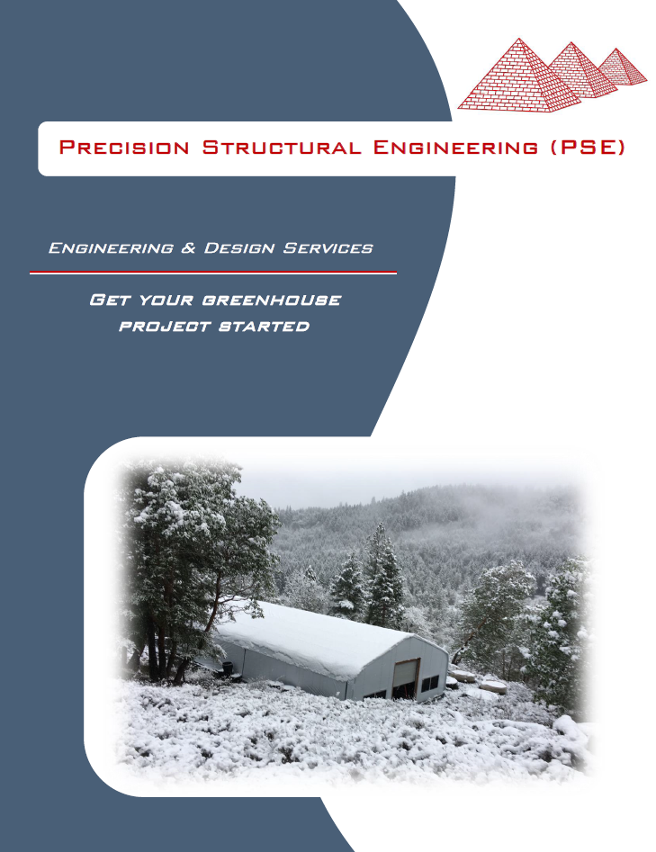 Greenhouse Designs & Plans | Precision Structural Engineering
