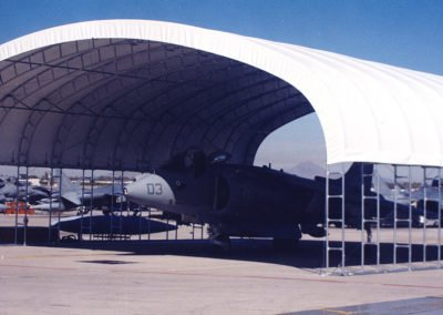 yuma-side-view - Military Fabric Structure