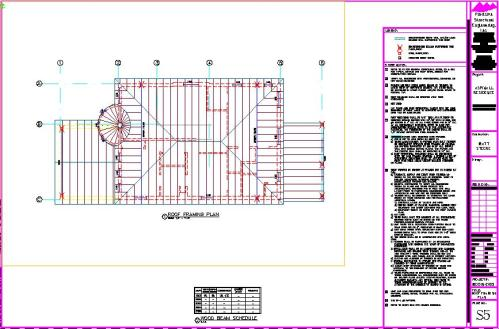 Commercial-Building-Light Gauge Steel-Cold Formed Steel-Plans