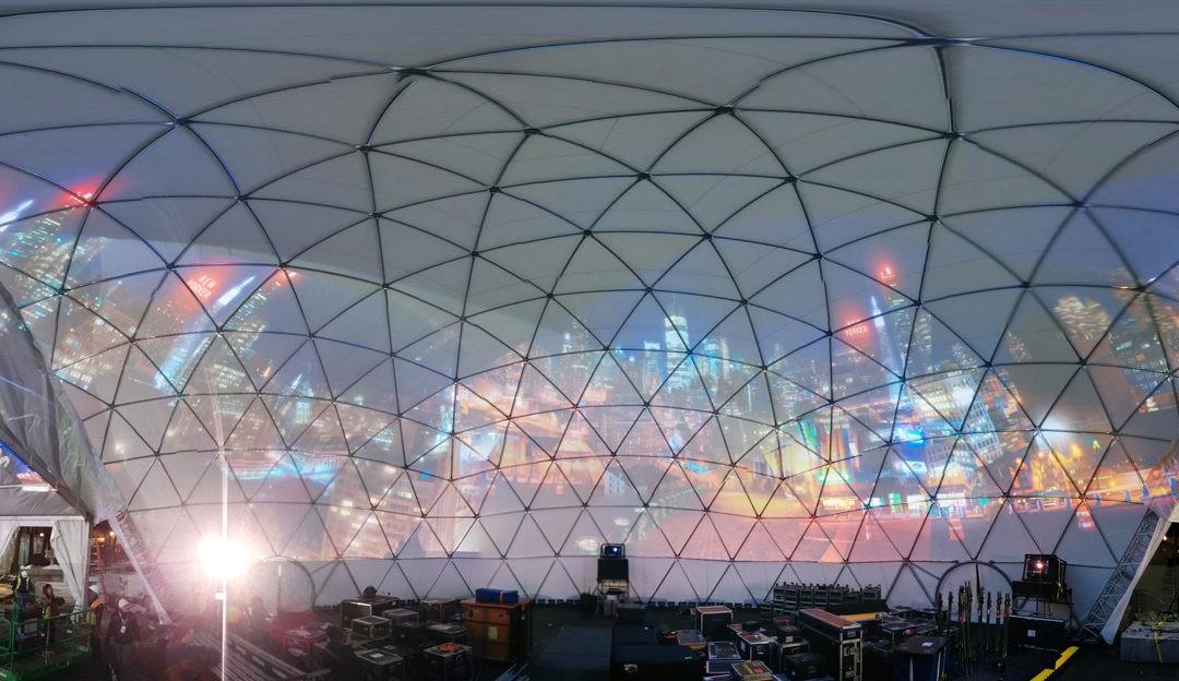 Superbowl Partial Dome Amphitheatre