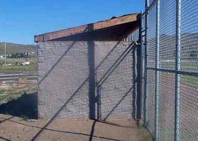Klamath County Sports Complex Dugout