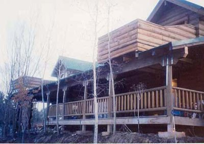 Ed Welcher Log Home