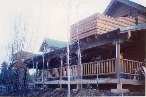 Ed Welcher Log Home