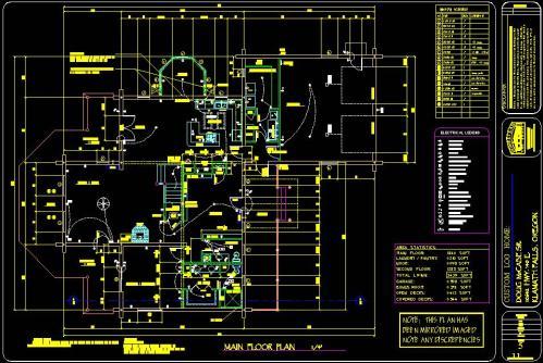 Residential-Log-Home-Plans