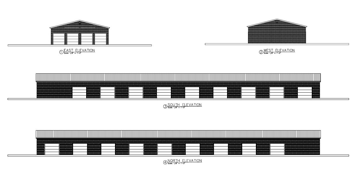 Self-Storage Cross Sections