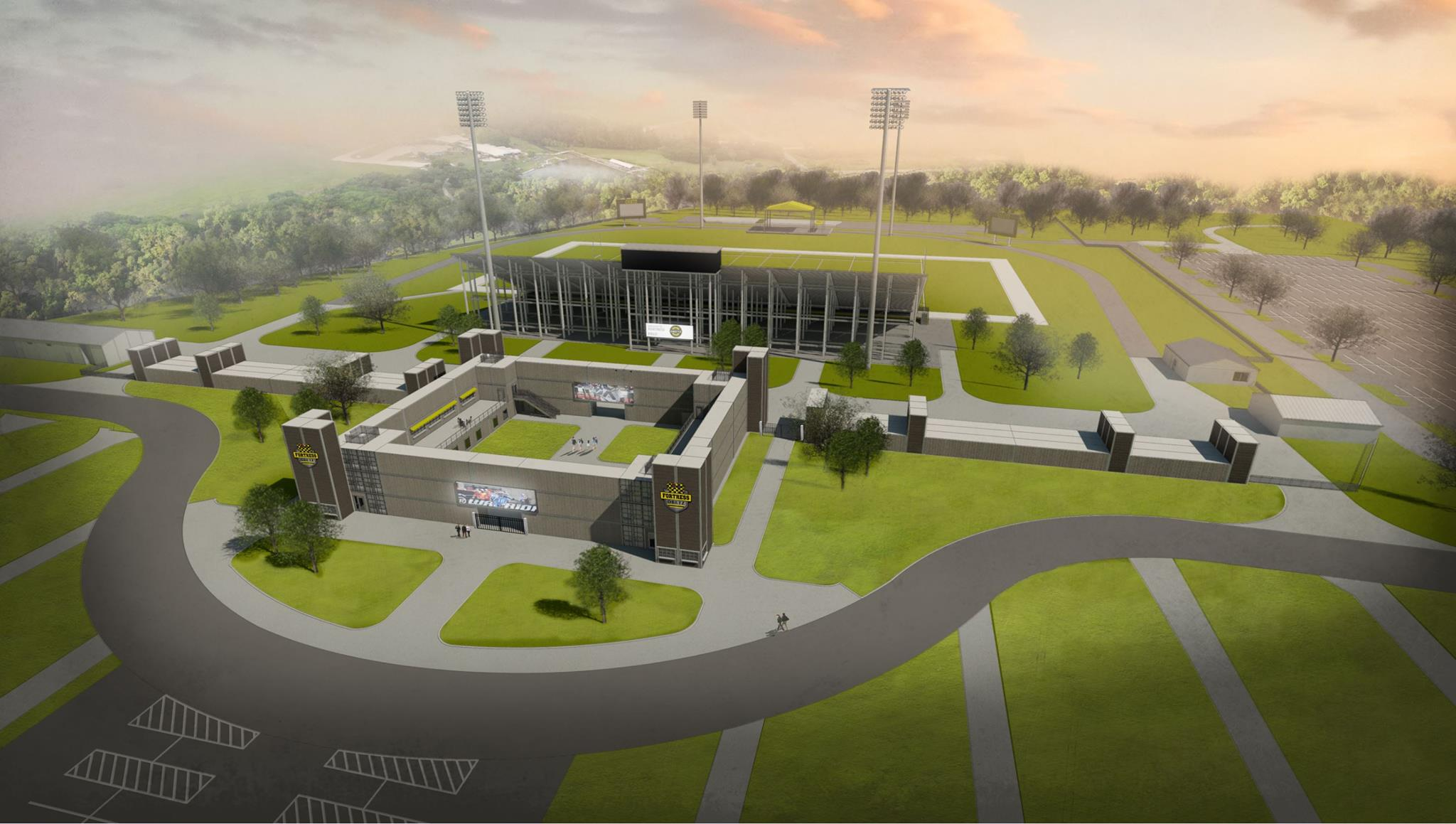 Fortress Obetz Stadium - New Rendering