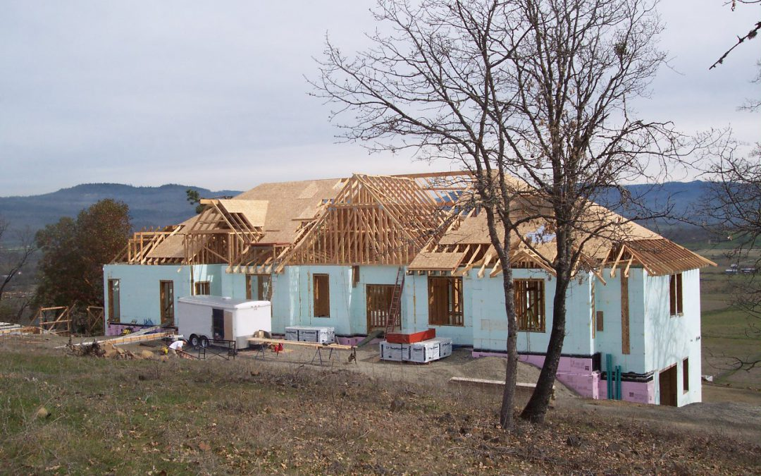 Benefits of Insulated Concrete Forms (I.C.F.)