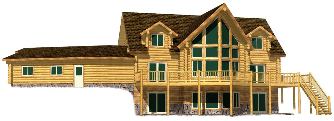 Lazarus Log Home 217-17