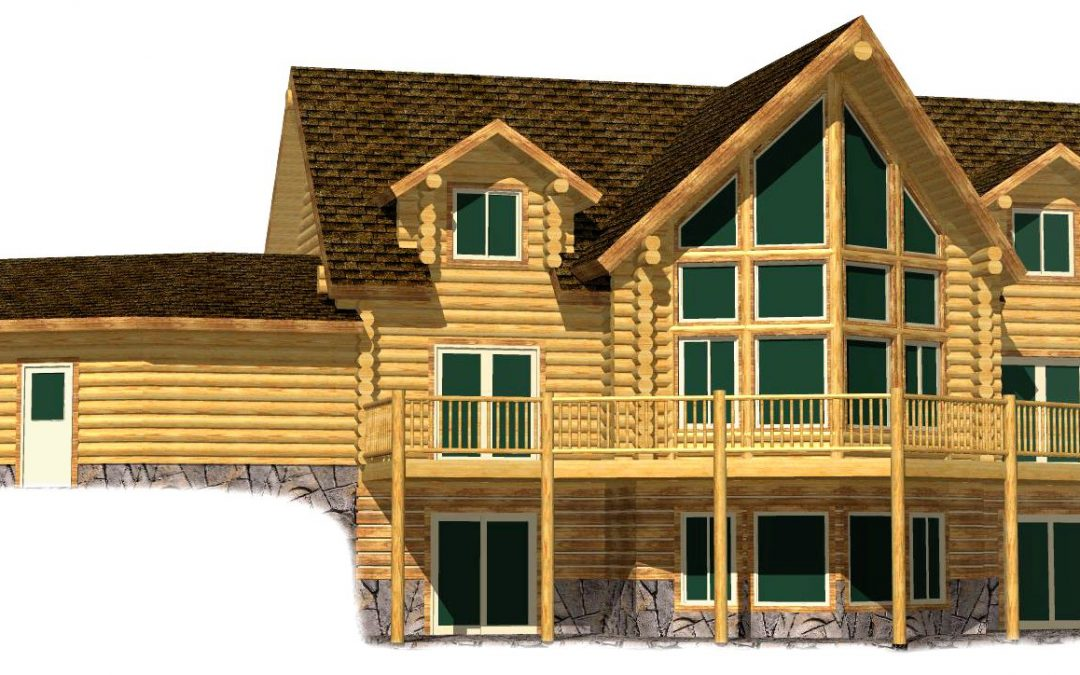 Lazarus Log Home 217-17