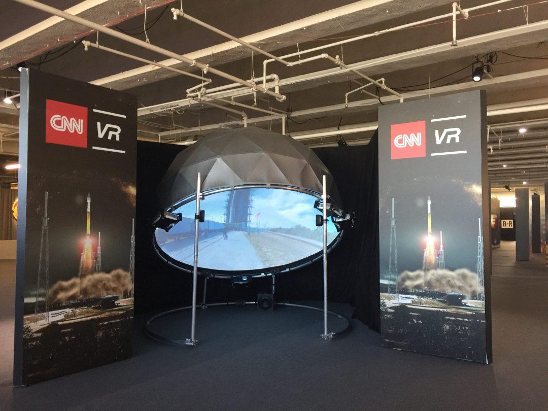 CNN VR Dome – FullDome Pro