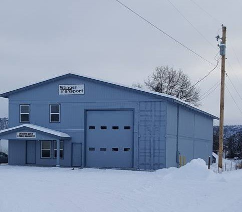 Stinger Transport, LLC. Shop Building