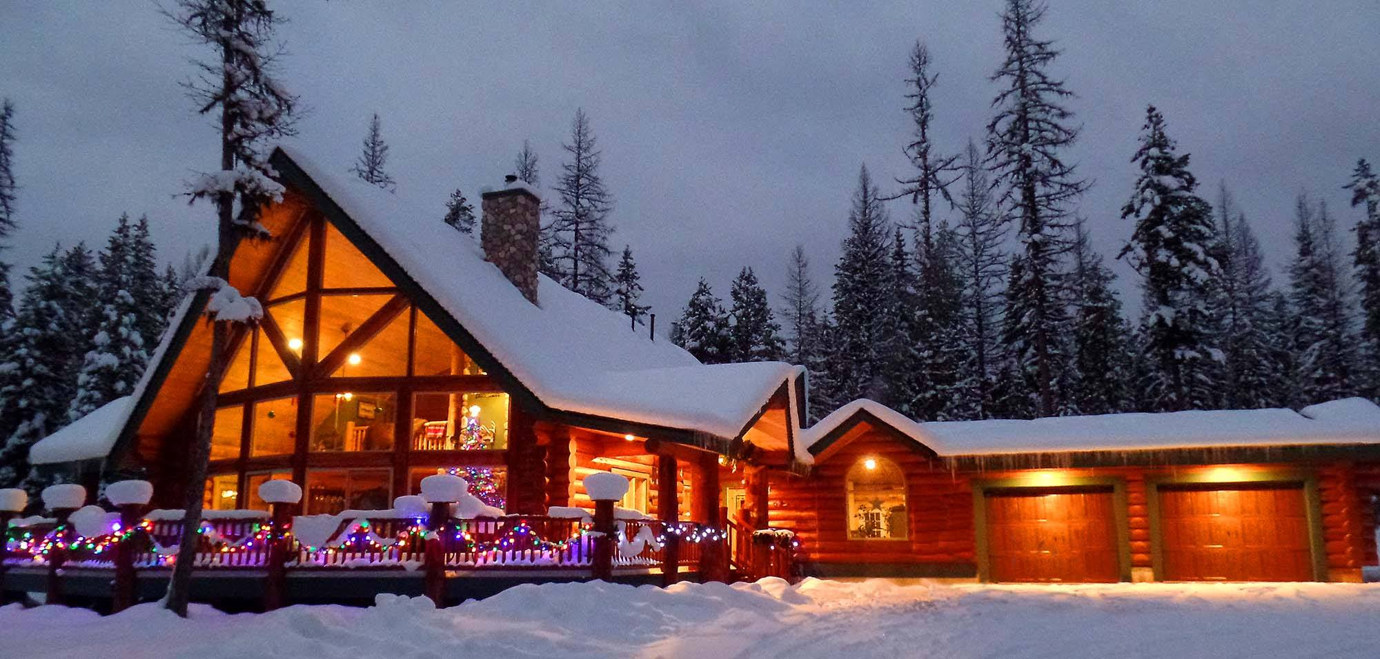 Log Homes | Precision Structural Engineering