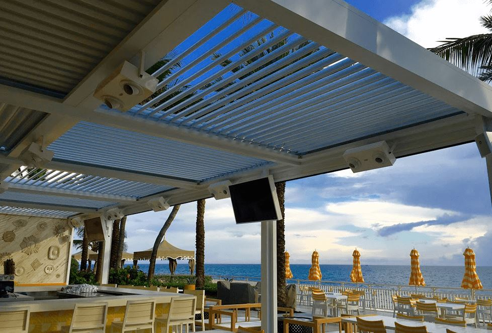 Ocean Side Bar Canopy