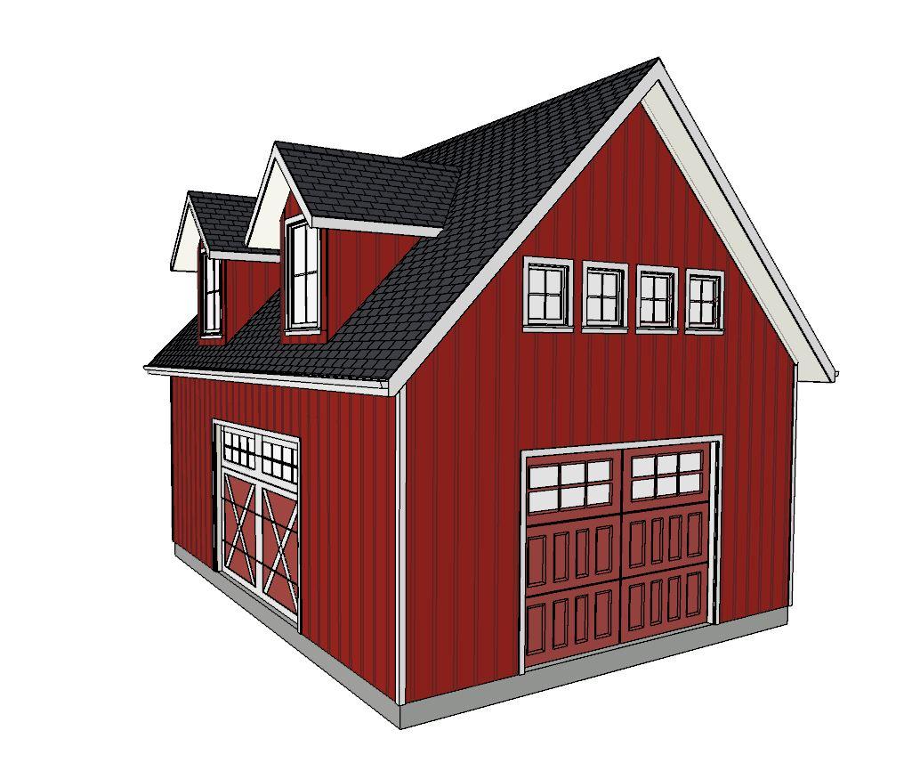 Barn with Loft 2