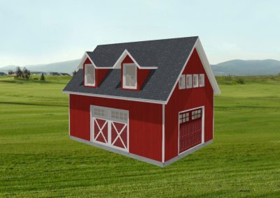 Barn with Storage Loft