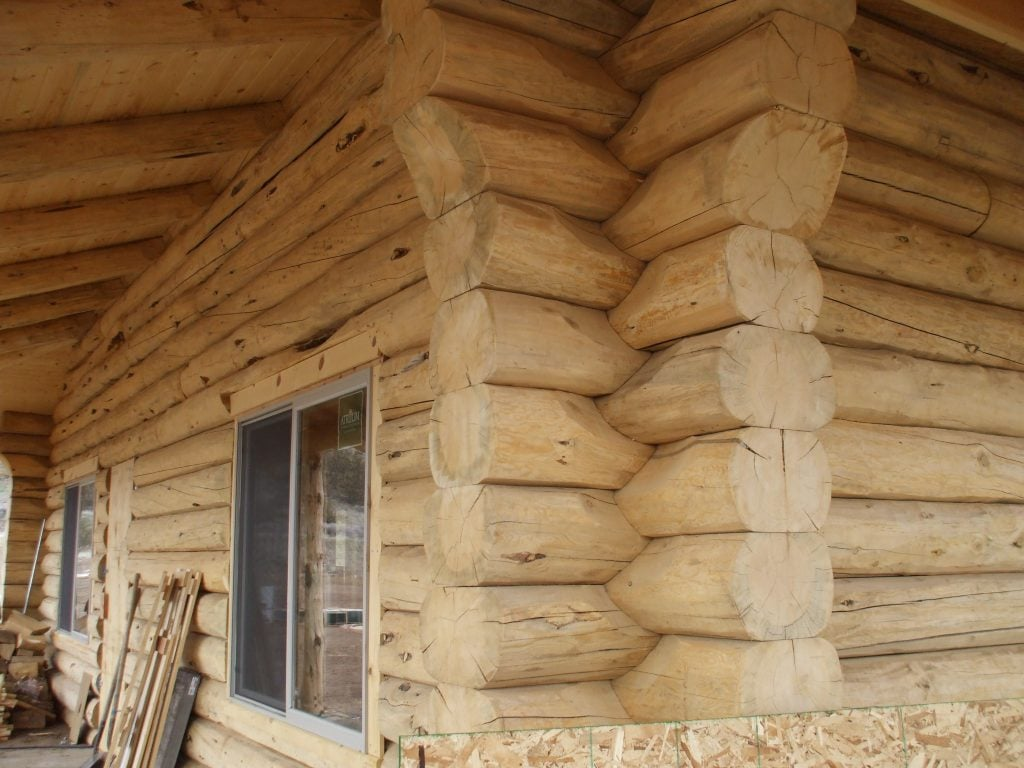 Commercial-Log-Home
