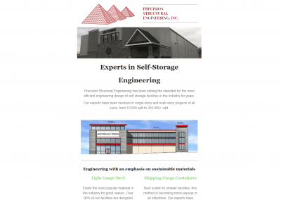 Self Storage Newsletter