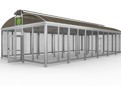Aluminum Shelters & Buildings