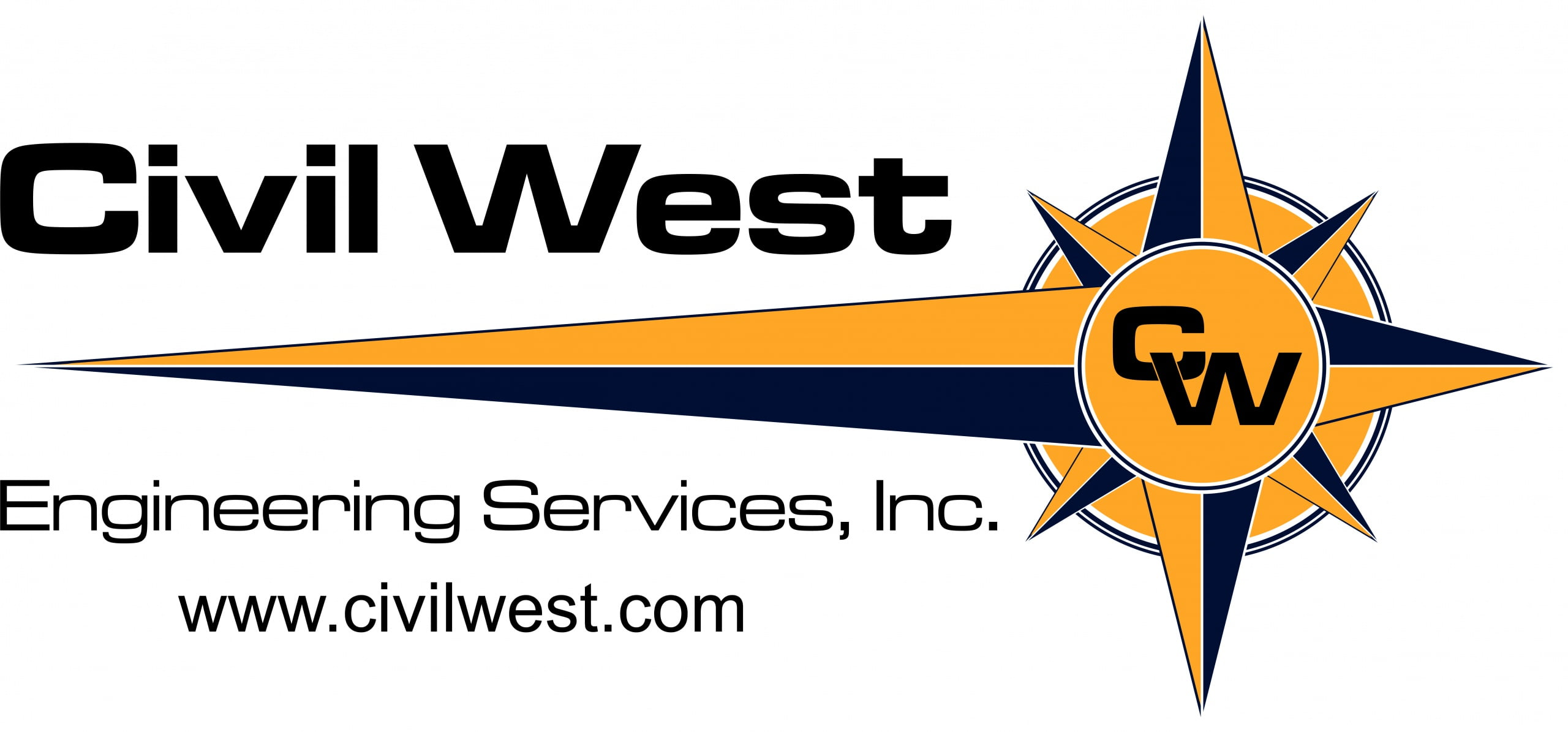 Civil West Engineering Logo