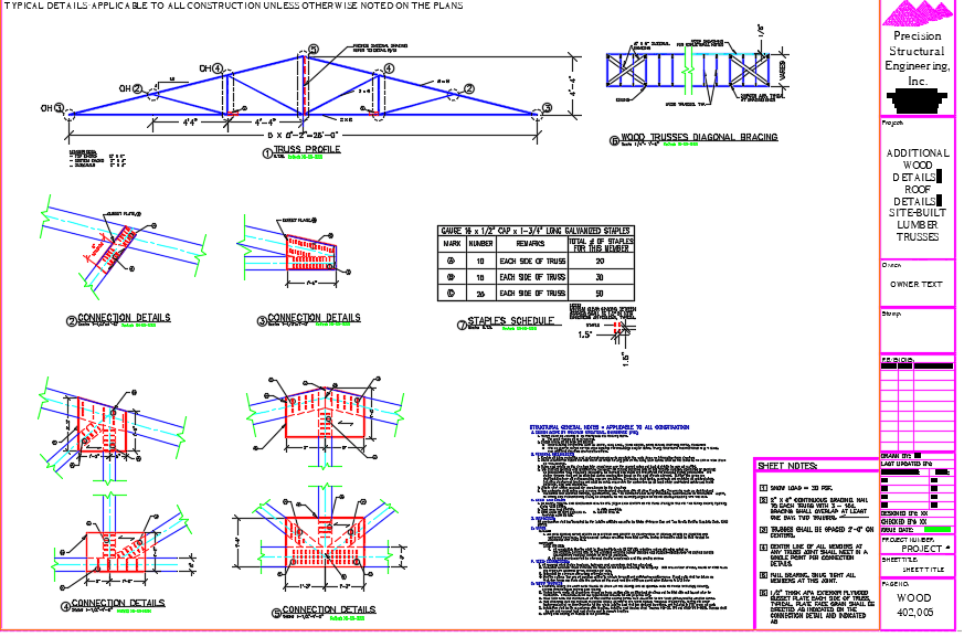 Site-Built-Roof-Truss-Drawing
