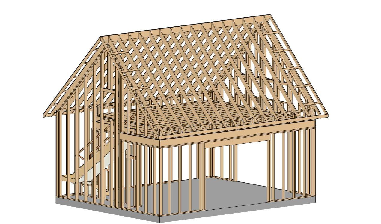 Pole Barn-Drawings-Blueprints